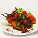 Marinated Beef and Vegetable Kebabs